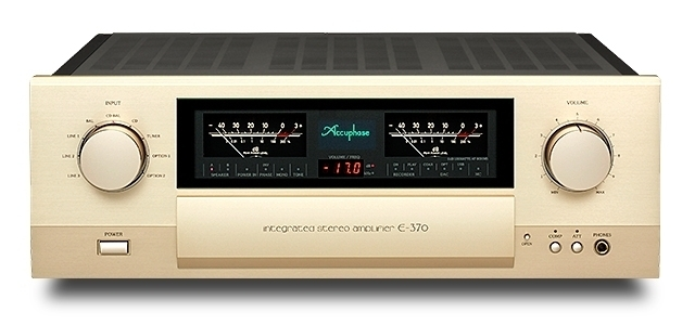 100W/ch INTEGRATED STEREO AMPLIFIERE-370 - GOLDDAYS  SMART HOME