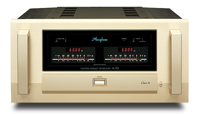 CLASS-A 60W/ch STEREO POWER AMPLIFIERA-70 - GOLDDAYS  SMART HOME