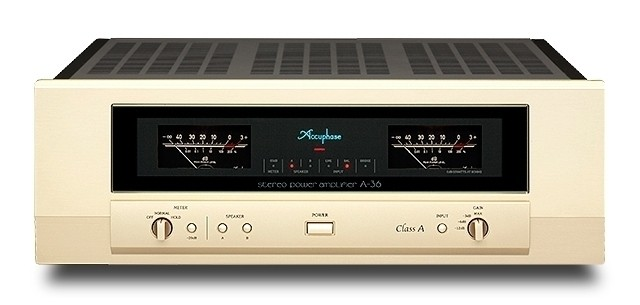 CLASS-A STEREO POWER AMPLIFIERA-36 - GOLDDAYS  SMART HOME